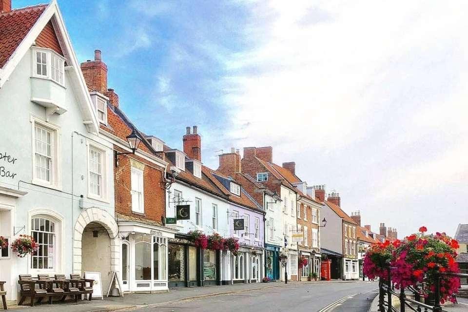 Malton town shops