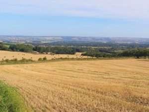 Thorpe Bassett hill